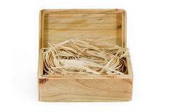 Box-3 en bois Image stock