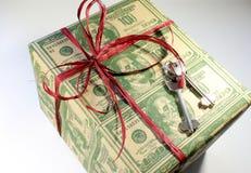 Box. family gift Royalty Free Stock Image