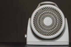 Box fan. Modern maximum efficiency box fan Stock Photo