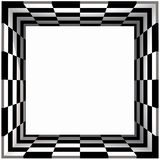 Box Frame Checker Board Royalty Free Stock Photos