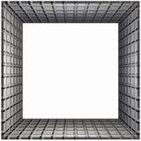 Box Frame Grid. 3D Box Frame Grid Pattern Stock Photo