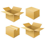 Box. free shipping icon Royalty Free Stock Images