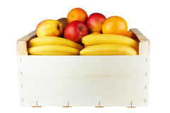 Box with fruit Royalty Free Stock Photo
