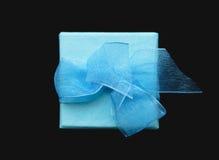 box gåvan Royaltyfri Fotografi