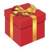 box gåvan Fotografering för Bildbyråer