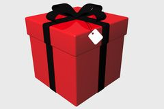 Box Gift. Royalty Free Stock Photo