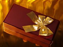 Box for a gift Stock Image