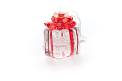 Box gift. For decoration home Royalty Free Stock Photography
