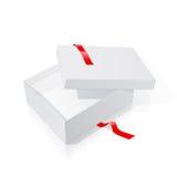 box gift Royaltyfri Foto