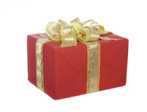 Box with a gift Stock Images