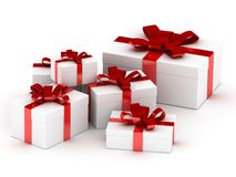 Box with a gift Stock Photography