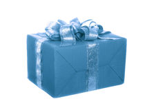 Box with a gift Royalty Free Stock Images