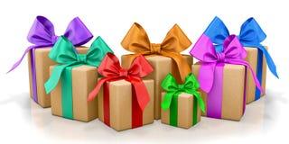 Box gift Stock Image