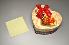 Box for gift Stock Images