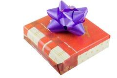 box gift wrapped Στοκ Φωτογραφία