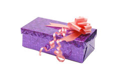 Box with gifts Stock Photography