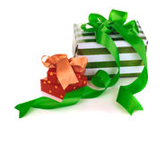 Box gifts Royalty Free Stock Images