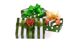 Box gifts Stock Images