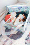 Box with gifts, cookies Stock Photography