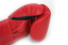 Box Gloves. Red Boxing Gloves Royalty Free Stock Photos