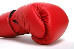 Box Gloves. Red Boxing Gloves Stock Photography