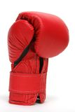 Box Gloves. Red Boxing Gloves Stock Photos