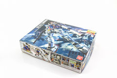 Box of Gundam RX-78-2 MASTER GRADE model. Stock Image