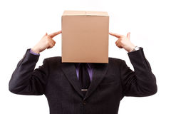 Box Head Royalty Free Stock Images