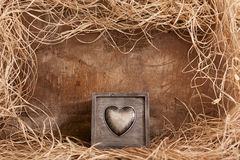 Box of heart Stock Image