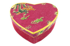 Box -heart for gift. St Valentines Day. Stock Images