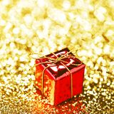 Box with holiday gift Royalty Free Stock Photography