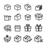 Box icon Royalty Free Stock Photos