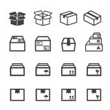 Box icon Stock Photo