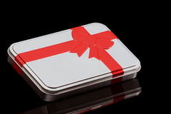 Box III. Gift box royalty free stock image