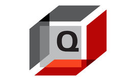 Box Initial Q Royalty Free Stock Image