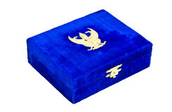 Box for Insignia coins. Royalty Free Stock Images