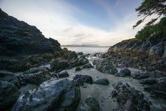 Box Island, Tofino, British Columbia. Box Island, Schooner Cove, Tofino, British Columbia Stock Images