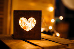 box isolated wooden Стоковое Изображение RF