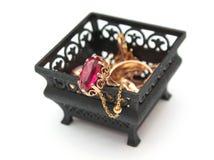 Box of jewel Royalty Free Stock Photo