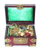 Box with  jewellery Stock Image