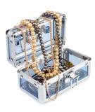 Box with jewelry stock photo