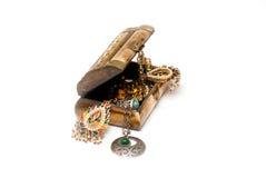 Box with jewelry Stock Photos
