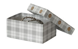 Box for jewelry Royalty Free Stock Image