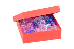 Box of Jewels Stock Images