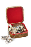 Box with jewels Stock Photography