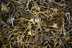 Box of Keys Royalty Free Stock Images