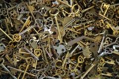Box of Keys Stock Images