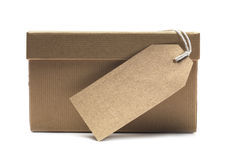 Box and Label Stock Photography
