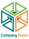 Box logo Stock Photo