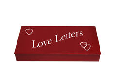 Box For Love Letters Stock Photography